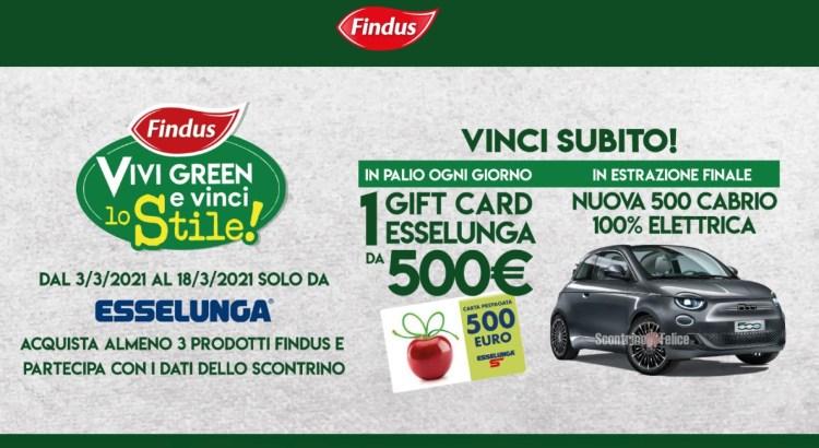 Concorso Findus Vivi Green e Vinci Lo Stile da Esselunga