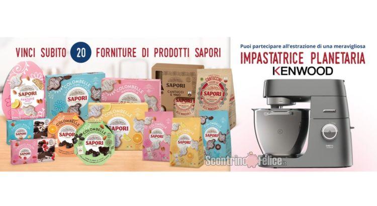 concorso gratuito Gratta e Vinci con Sapori Pasqua Edition