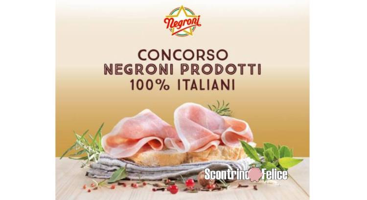 Concorso Negroni 2021 vinci My GiftCard Square da 50 euro