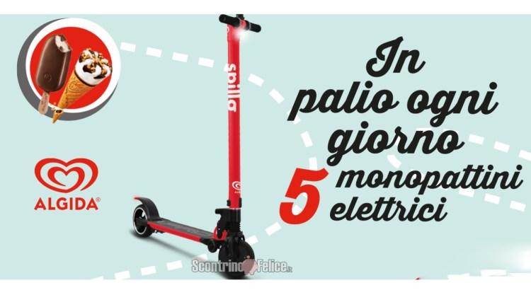 Concorso Algida da Autogrill vinci 150 monopattini Spillo Pro brandizzati