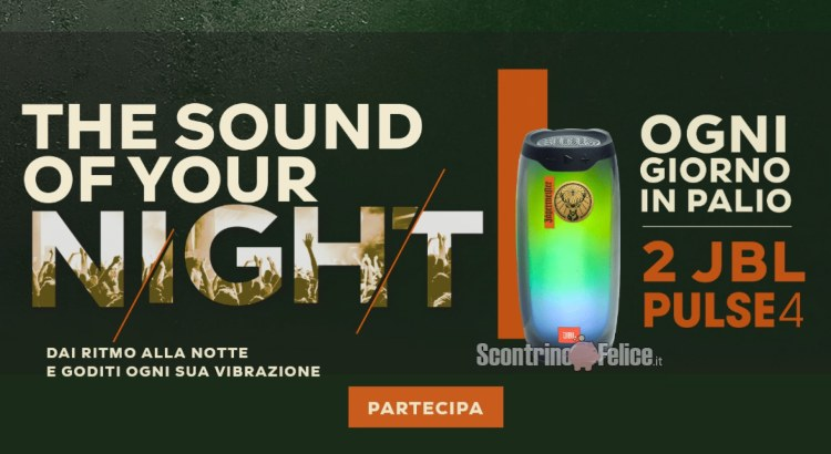 concorso Jagermeister The Sound Of Your Night 2021 vinci speaker JBL