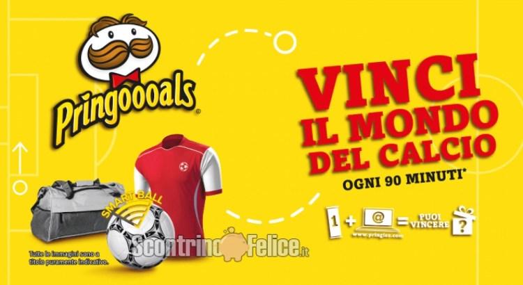 Concorso Pringles 2021 vinci premi a tema calcio ogni 90 minuti