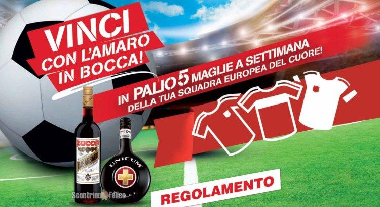 Concorso Unicum e Zucca Vinci Con L'Amaro In Bocca