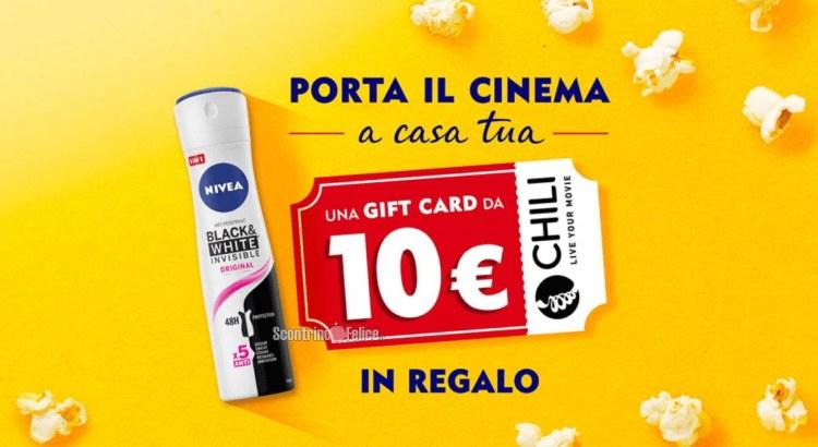 Nivea Porta il Cinema a Casa Tua codice Chili premio certo