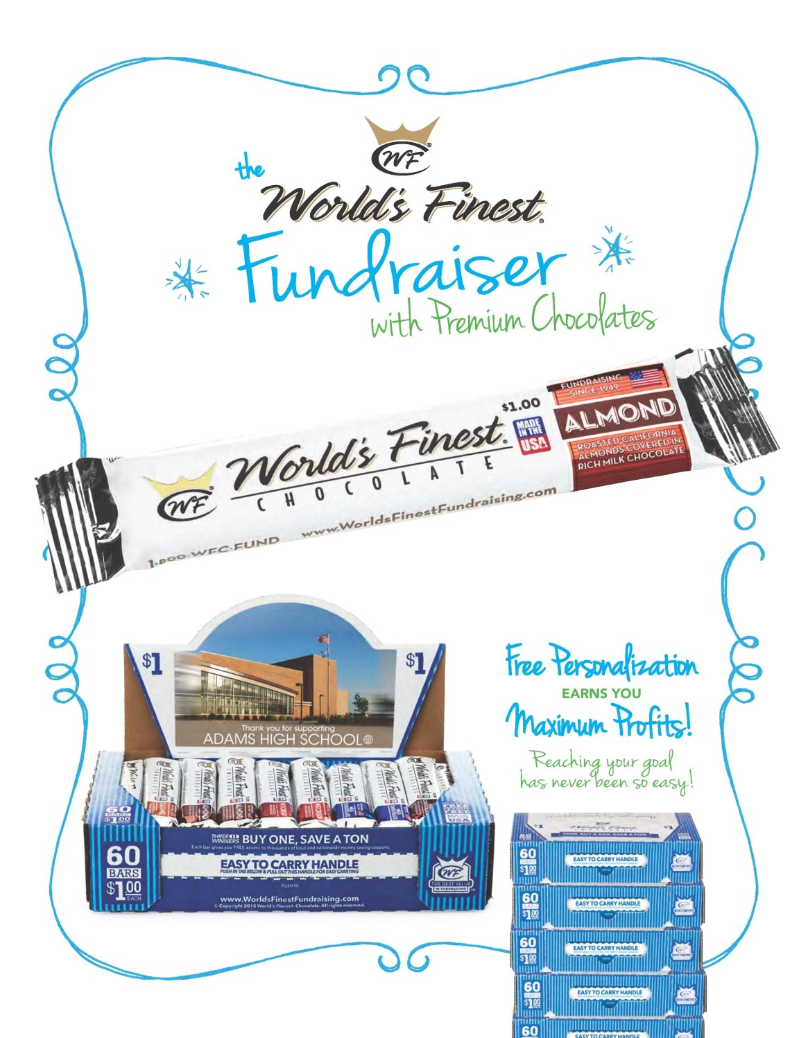 Worlds Finest Chocolate | Colorado Fundraising