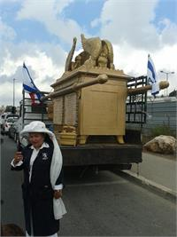 Grace Kopna unveiled the Ark of the Covenant in Jerusalem