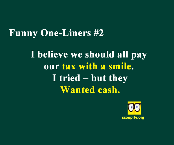 Funny One Liners Clean