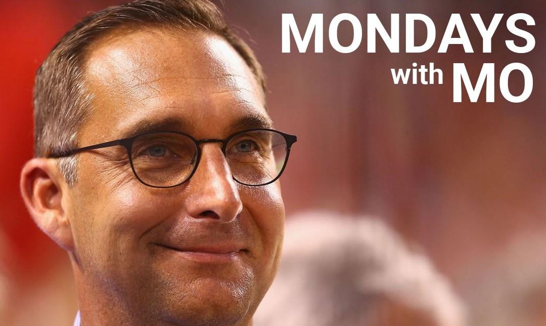 Mondays with Mo- September 9, 2019