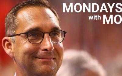 Mondays with Mo- September 16, 2019