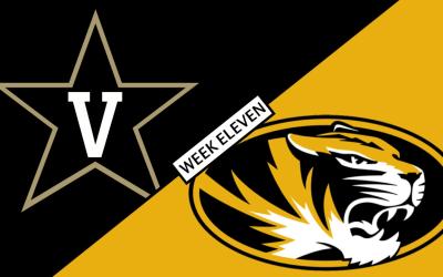 Missouri Football Report – Vanderbilt vs Missouri – November 10, 2018