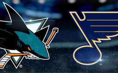 Blues Report – Sharks vs Blues – November 9, 2018