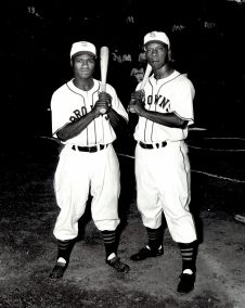 Postcard - Hank Thompson and Willard Brown