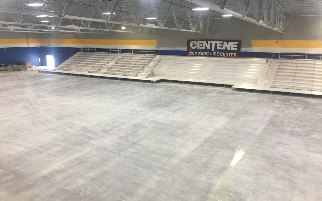 Construction on Blues' New Iceplex Enters Final Month