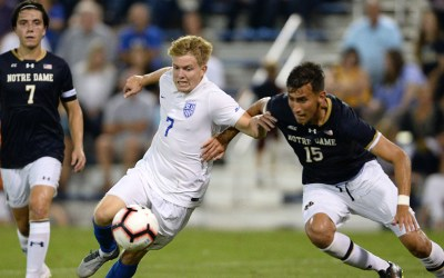 Second half mistakes lead to SLU Soccer falling short against No. 9 Notre Dame