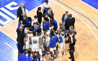 In the shadow of a legend's passing, Billikens persevere and win over Fordham 55-39