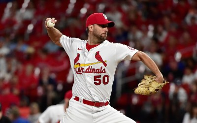 Bernie's Redbird Review: With The Cardinals In Trouble, Adam Wainwright Rides To The Rescue. Again.
