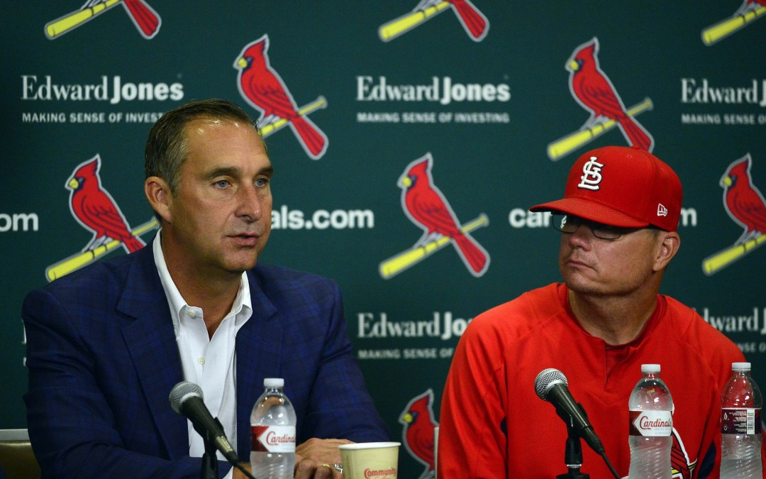 Bernie: The Cardinals Fired Manager Mike Shildt. It Wasn't As Shocking As You Think.