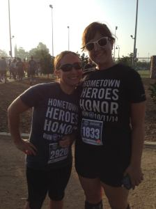 Supporting Riverside's Boys in Blue at the Hometown Heroes 10k