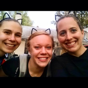 Halloween long run means cat ears