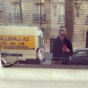 Actually in Paris.