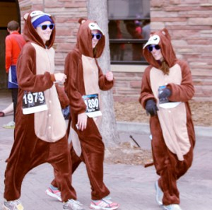 Look y'all, chipmunk runners!
