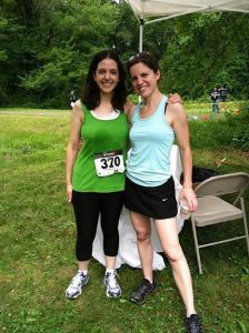 I ran in the Phillips 5K the first year. I was slow, but heck, I finished!