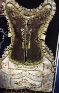 The wardrobe costume from Beauty and the Beast. Aren't the details incredible?
