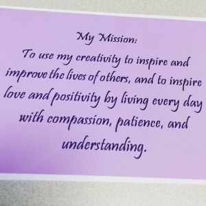 Jenn's Mission Statement