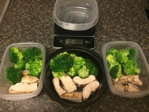 Mmmm. Chicken. And Broccoli.