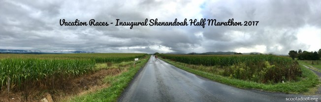 A race recap of the Inaugural Shenandoah half marathon, hosted by Vacation Races.