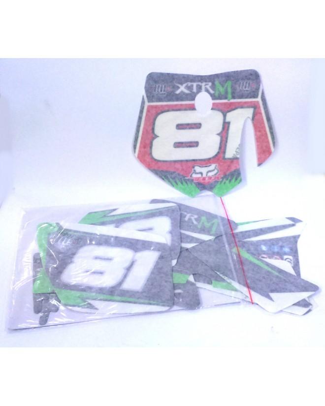 pieces detachees kit decoration moto enfant 50cc