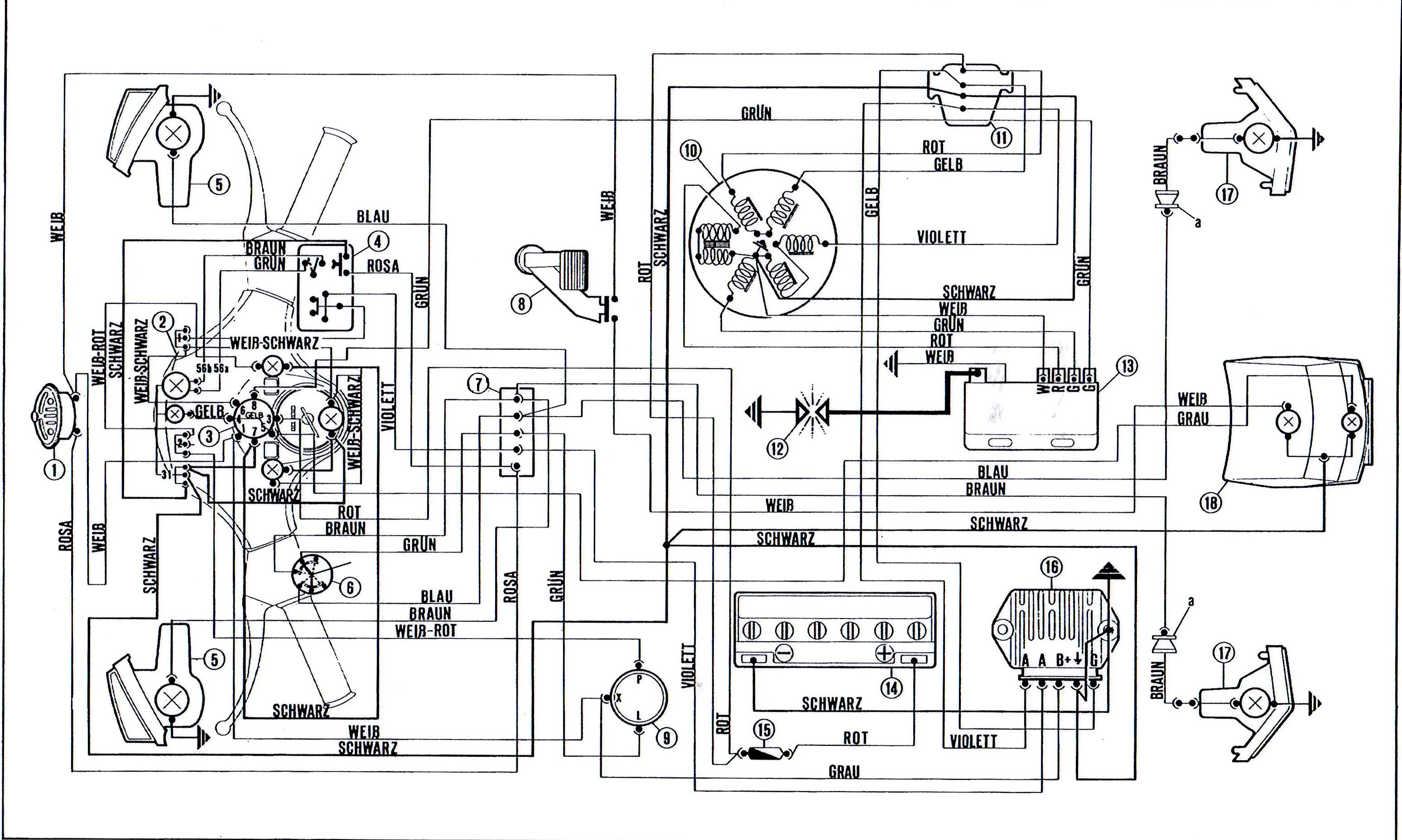 Spannungsregler Roller Schaltplan