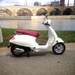 ScooterFile First Ride - 2014 Vespa Primavera 150 3Vie 2