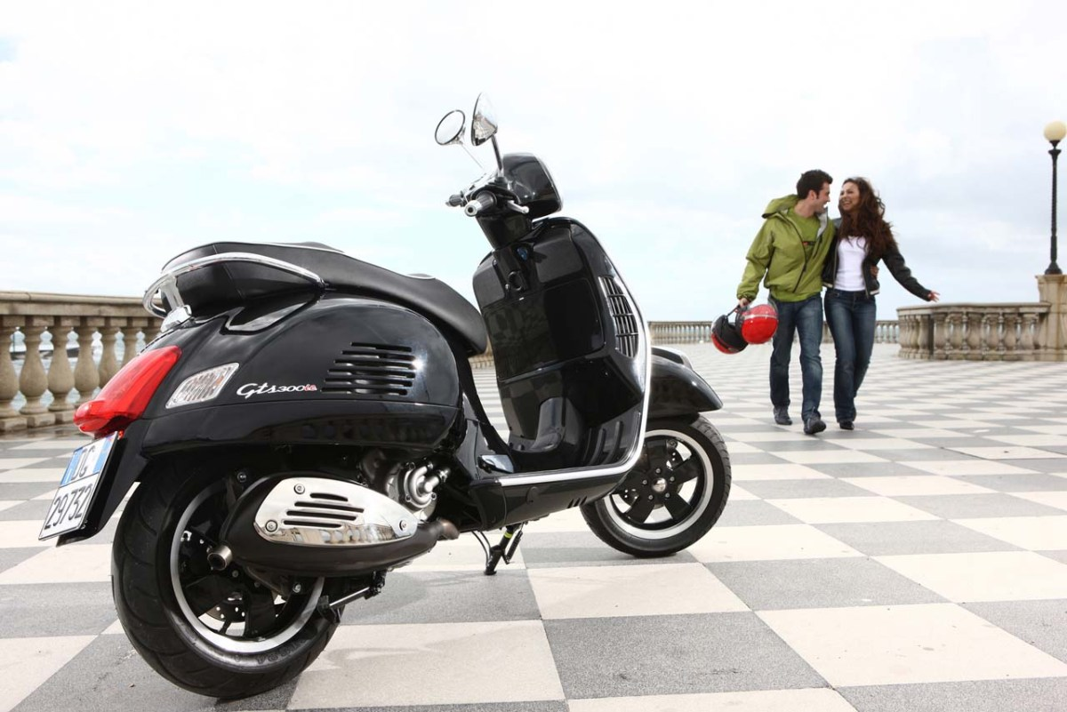 Exclusive: Next Vespa GTS Not Based On BV350