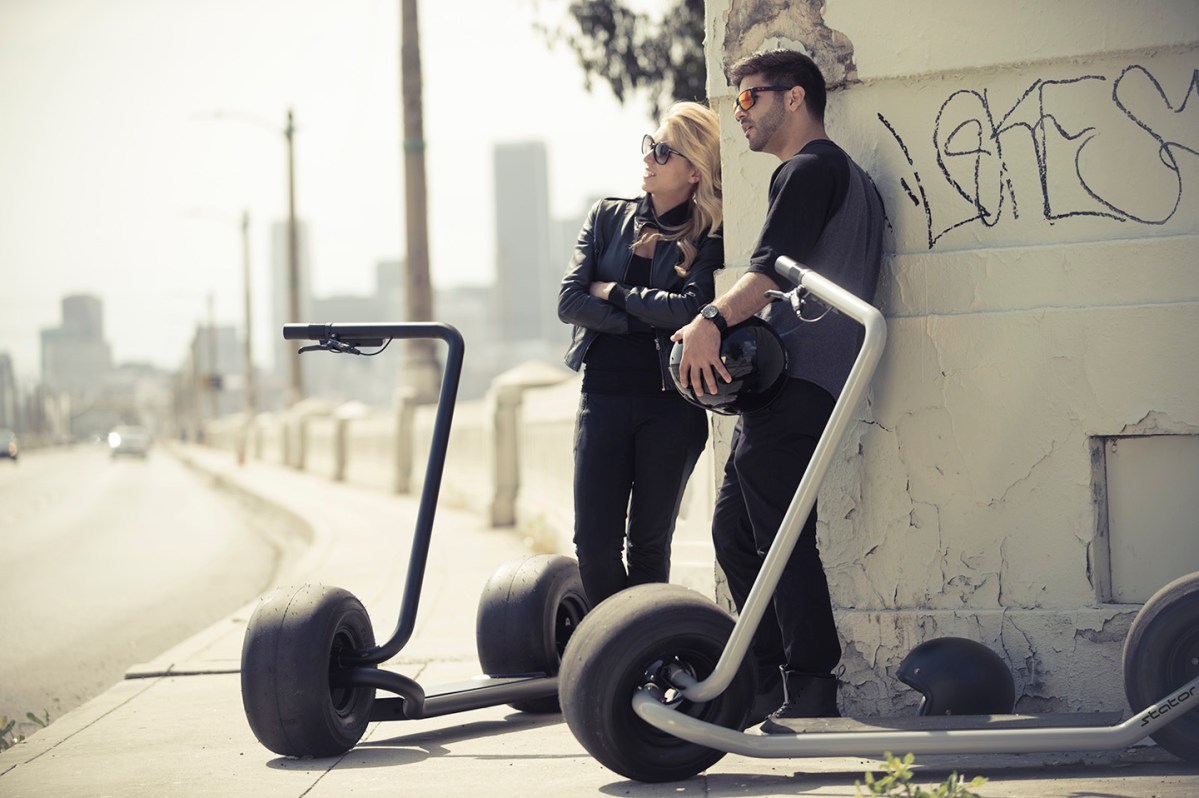 Video: Meet Stator, an Electric Stand Up Scooter Concept ...