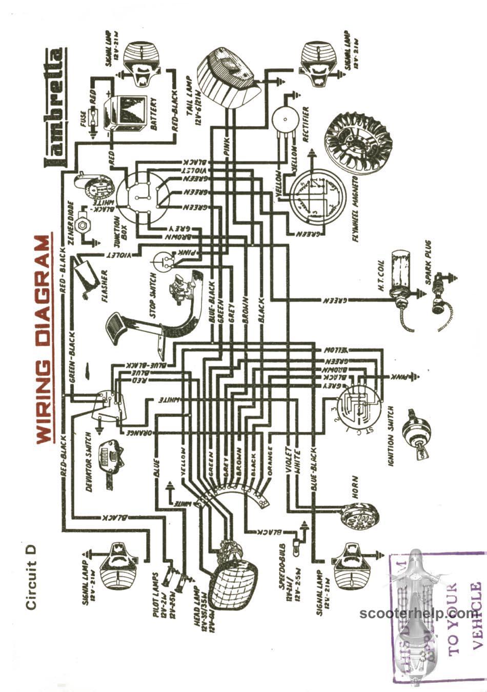 Sil Lambretta Dl 200 Owner S Manual