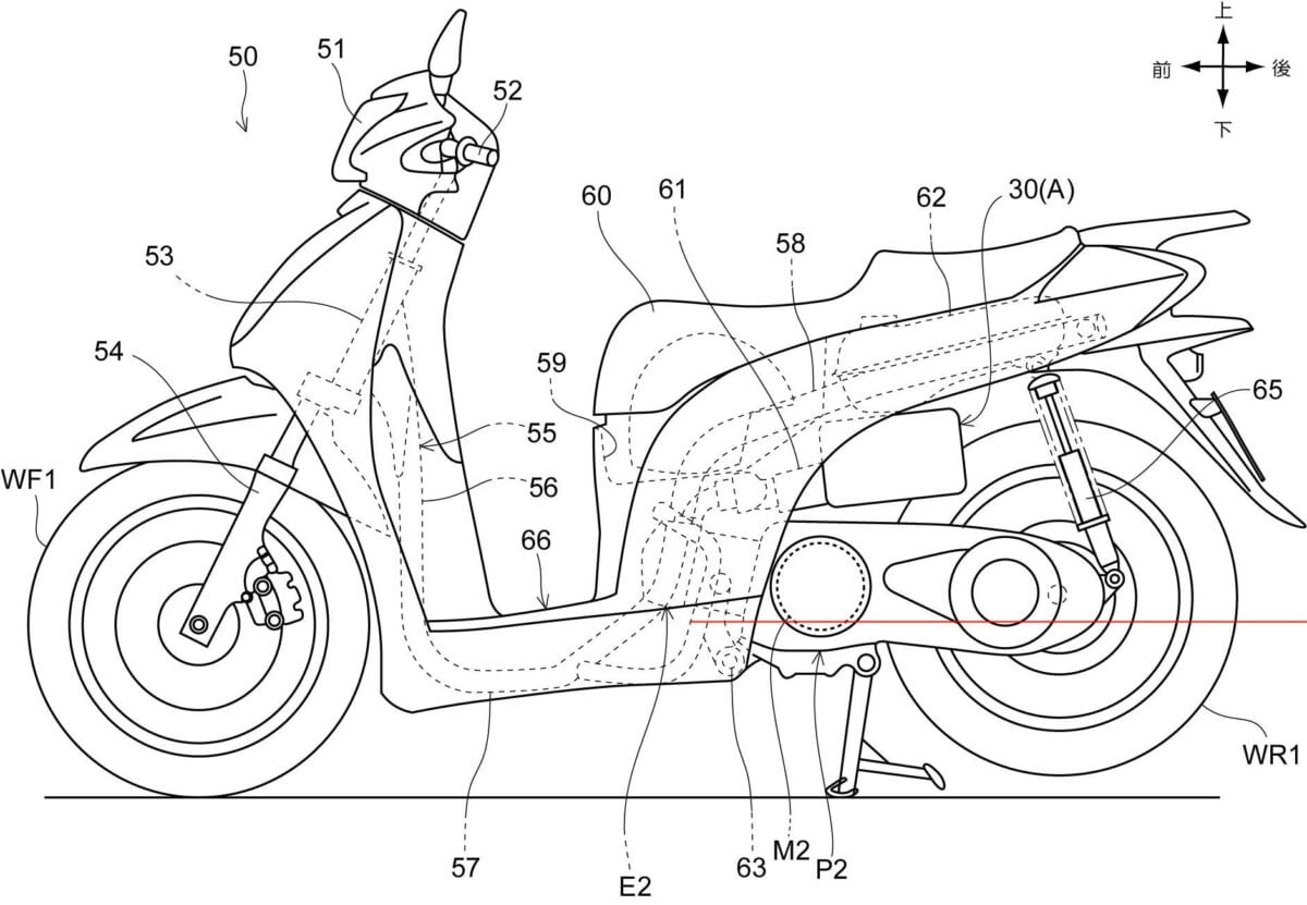 Honda S Hybrid Powered Scooter Plans For Appear Scootering