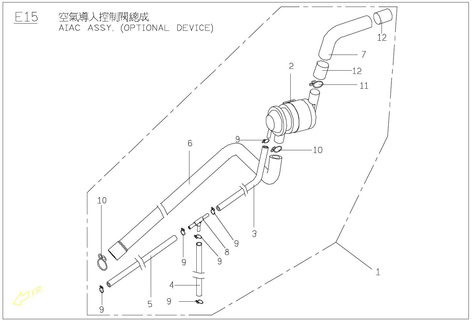 Vespa Et2 50 Body Parts