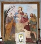 Altare chiesa del Dosso di Velate, Madonna del Carmine (foto scoprilabrianzatuttoattaccato)