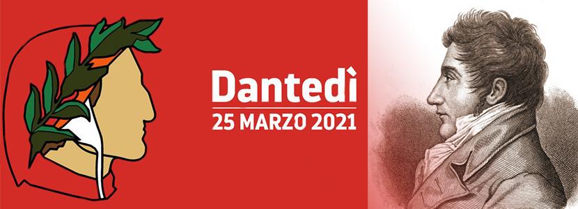 Dantedì 2021 Carlo Porta e il primo canto dell'Inferno