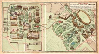 Piantina Expo 1906