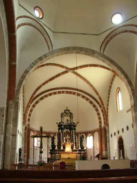 San Nazaro - Interno