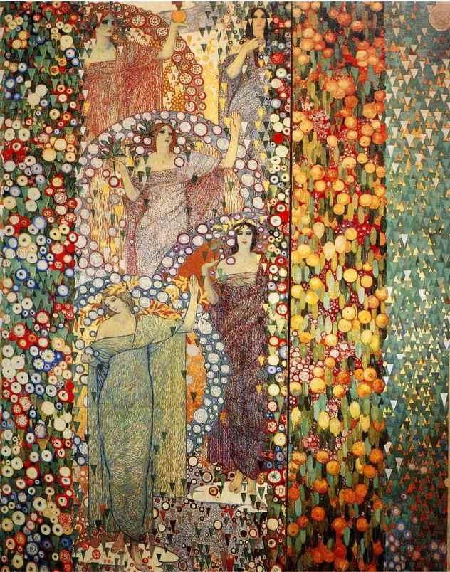 Galileo Chini, La Primavera classica, 1914