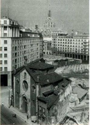 S.Giovanni in Conca - chiesa distrutta