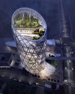 render torre Hotel Unipol