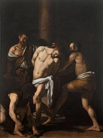 Caravaggio, la Flagellazione