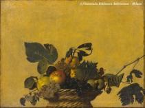 Caravaggio, la Canestra di frutta