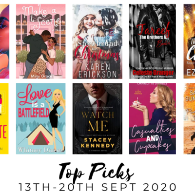 New Romance Releases 13th – 19th Sept : Nix's Top Picks.