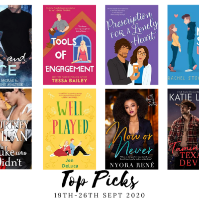 New Romance Releases 19th – 26th Sept : Nix's Top Picks.