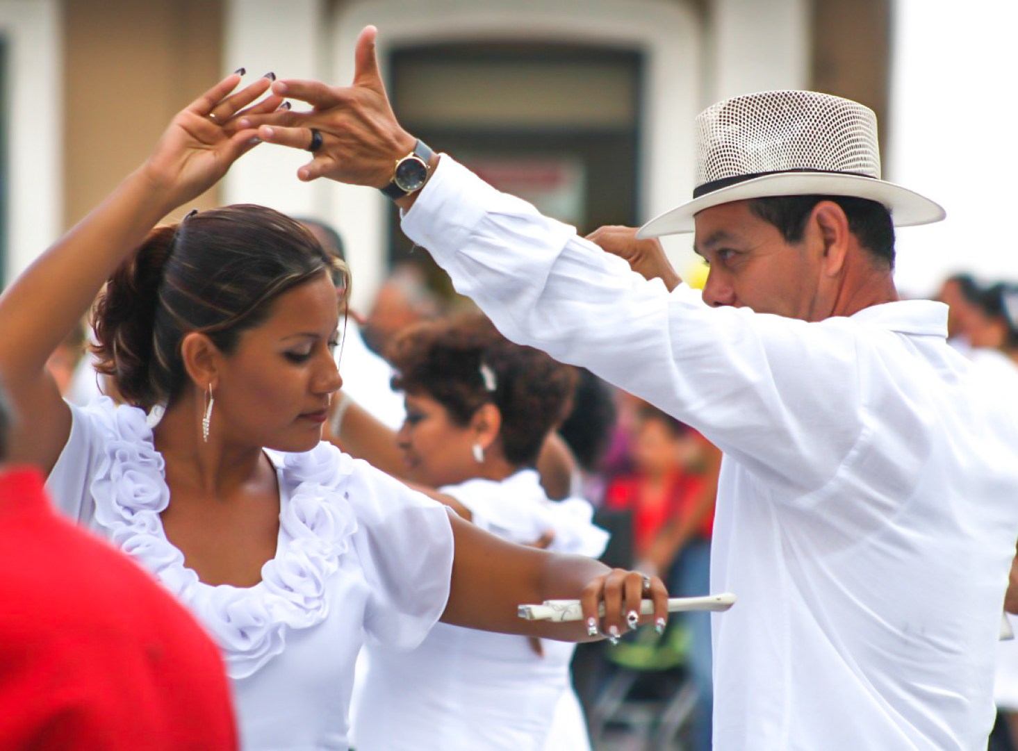 Danza in Plaza Mayor, Merida - Messico